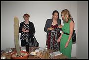 SUSAN HOSKING; DOROTHY AVERY; SIGRID KIRK, Matt's Gallery 35th birthday fundraising supper.  42-44 Copperfield Road, London E3 4RR. 12 June 2014.