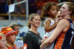 27-09-2015 NED: Volleyball European Championship Nederland - Polen, Apeldoorn<br /> Nederland verslaat Polen met 3-1 / Monique Wismeijer
