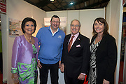 21/1/16  US Ambassador Kevin O'Malley at the Visit North Carolina and Georgia stand at the Holiday World Show in the RDS in Dublin. Picture: Arthur Carron