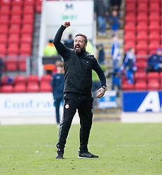 Aberdeen manager Derek McInnes at the end. St Johnstone 1 v 2 Aberdeen. SPFL Ladbrokes Premiership game played 15/4/2017 at St Johnstone's home ground, McDiarmid Park.