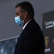 Roma 13/03/2021, Stadio Olimpico<br /> Guinness Six Nations 2021<br /> Italia vs Galles<br /> <br /> Franco Smith