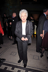 JUNE WHITFIELD at the Orion Publishing Group Author Party held at the V&A, London on 18th February 2009.