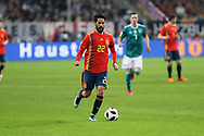 Isco (Spain) during the International Friendly Game football match between Germany and Spain on march 23, 2018 at Esprit-Arena in Dusseldorf, Germany - Photo Laurent Lairys / ProSportsImages / DPPI