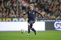Fotball<br /> Frankrike v Spania<br /> Foto: DPPI/Digitalsport<br /> NORWAY ONLY<br /> <br /> FOOTBALL - FRIENDLY GAME 2010 - FRANCE v SPAIN - 03/03/2010<br /> <br /> FERNANDO TORRES (SPA)