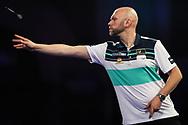 Daniel Larsson during the World Darts Championships 2018 at Alexandra Palace, London, United Kingdom on 19 December 2018.