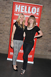 Left to right, ROSIE NIXON and RUTH SULLIVAN at a party hosted by the Hello! magazine advertising department to celebrate 25 years of Hello! Magazine held at the London Film Museum, Covent Garden,London on 9th May 2013.
