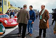 Nürburgring 1000 Kilometres 28 May 1961, Bill de Selincourt in blue overalls