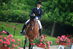 Reutimann Priska (SUI) - Charmeur XVII CH<br /> European Championships Young Riders 2010<br /> © Hippo Foto - Leanjo de Koster