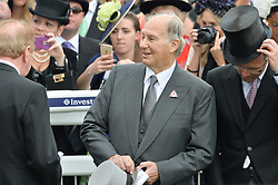 The AGA KHAN at the Investec Derby at Epsom Racecourse, Epsom, Surrey on 4th June 2016.