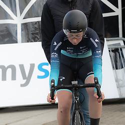 11-03-2021: Wielrennen: Healthy Ageing Tour: Lauwersoog  <br />Maud Rijnbeek