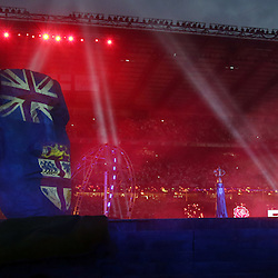 LONDON, ENGLAND - SEPTEMBER 18: GV during the Rugby World Cup 2015 Opening Ceremony at Twickenham Stadium on September 18, 2015 in London, England. (Photo by Steve Haag)