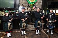 St. Patrick's Day celebration at Somni Bar & Restaurant in Monroe, N.Y., on March 15, 2020.