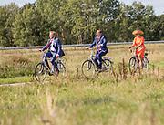 OOSTERWOLDE, 17-09-2020 <br /> <br /> Streekbezoek van Koning Willem-Alexander en  Koningin Máxima aan Zuidoost-Fryslân waar het paar een bezoek bregen aan het ECOstyle en EcoMunityPark in <br /> Gemeente Ooststellingwerf<br /> <br /> Regional visit of King Willem-Alexander and Queen Máxima to Southeast Fryslân where the couple pay a visit to the ECOstyle and EcoMunity Park in<br /> Municipality of Ooststellingwerf