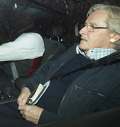 © Licensed to London News Pictures . 01/05/2013 . Wilmslow , Cheshire , UK . Actor Bill Roache MBE arrives home after being charged with two counts of rape against a 15 year old girl in 1967 . Coronation Street actor , Bill Roache MBE has been arrested on charges of an historic rape against a 15 year old girl . Photo credit : Joel Goodman/LNP