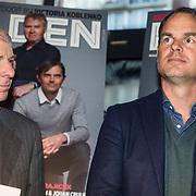 NLD/Amsterdam/20150202 - Presentatie sportblad Helden 25, Frits Barend, Frank de Boer en Guus Hiddink