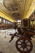Carriages Museum in Belém district in Lisbon, is the most visited state-owned museum in Portugal.