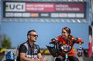 #388 (BAAUW Judy) NED during practice of Round 3 at the 2018 UCI BMX Superscross World Cup in Papendal, The Netherlands