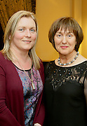 Deirdre McGauran and Noreen McGowan of Leitrim Mabs at the EFQM Ireland Excellence Awards ceremony in association with Fáilte Ireland and the Centre for Competitiveness at the Galway Bay Hotel on Friday night. Photo:- Andrew Downes Photography / No Fee