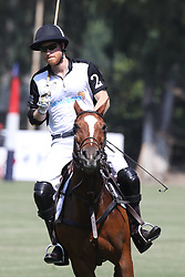 May 24, 2019, Rome, Italy: Prince Harry, The Duke of Sussex competes in  the 2019 Sentebale ISPS Handa Polo Cup at Rome Polo Club in Italy. (Credit Image: © Stephen Lock/i-Images via ZUMA Press)