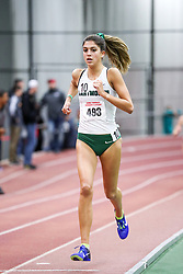 womens 3000 meters, heat 3, Dartmouth<br /> BU John Terrier Classic <br /> Indoor Track & Field Meet