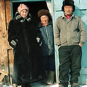 Siberian Family, Olkhon Island, Siberia, Russia