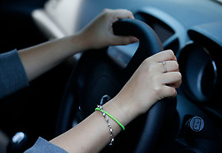 Embargoed to 0001 Monday December 10 PICTURE POSED BY MODEL File photo dated 13/08/14 of a woman driving. Millions of motorists do not understand some fundamental rules of the road, a new survey suggests.