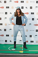 """Honey G  at the """"Break"""" Drive-In World Premiere at Brent Cross Shopping Centre in London"""