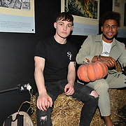 Liam Craigie is a model attend Press night an halloween experience at  London Tombs at The London Bridge Experience, UK. 18 October 2018.