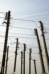 Postes de energia elétrica. FOTO: Jefferson Bernardes/Preview.com
