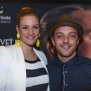 NLD/Utrecht\/20131027 -Premiere musical Sonneveld, Michelle Splietelhof en partner Tommie Christiaan