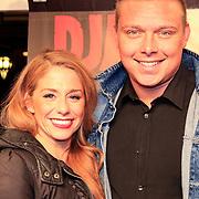 NLD/Amsterdam/20130114 - Premiere Django Unchained, Tony Wyczynski en schaatspartner Alexandra Murphy
