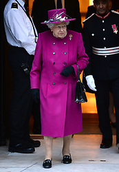 Queen Elizabeth II attends the reopening of The Sir Joseph Hotung Gallery at the British Museum, London. Picture credit should read: Doug Peters/EMPICS Entertainment
