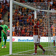 Galatasaray's Umut Bulut (C) during their Turkish Super League soccer match Galatasaray between Osmanlispor at the AliSamiYen Spor Kompleksi TT Arena at Seyrantepe in Istanbul Turkey on Monday, 24 August 2015. Photo by Aykut AKICI/TURKPIX