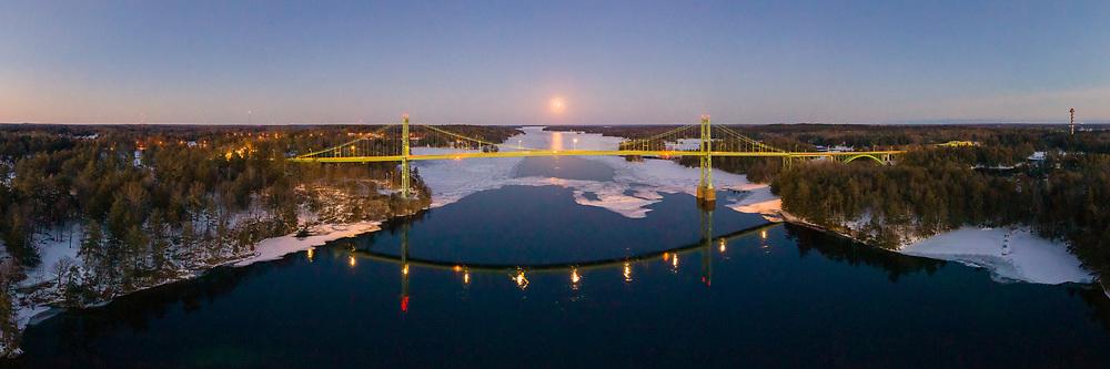 https://Duncan.co/snow-super-moon-and-1000-islands-bridge