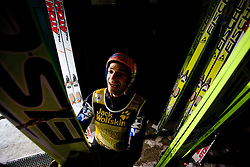 Andreas Kofler of Austria during Trial round of the FIS Ski Jumping World Cup event of the 58th Four Hills ski jumping tournament, on January 6, 2010 in Bischofshofen, Austria. (Photo by Vid Ponikvar / Sportida)