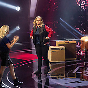 NLD/Hilversum/20180126 - The Voice of Holland 2017 show 1, Anouk en Sanne Hansen