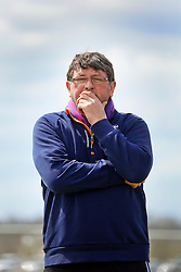 28 February 2016. Burbank Soccer Complex, Baton Rouge, Louisiana.<br /> New Orleans Jesters head coach Kenny Farrell. <br /> Photo©; Charlie Varley/varleypix.com