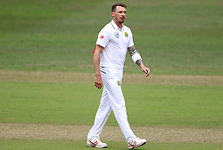 Dale Steyn during day two of the first test match between South Africa and New Zealand held at the Kingsmead stadium in Durban, KwaZulu Natal, South Africa on the 20th August 2016<br /> <br /> Photo by:   Anesh Debiky / Real Time Images
