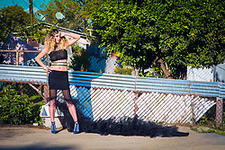 Fashion Editorial Girl Next Door<br /> Shot in East Los Angeles California<br /> Model Sarah Gingrich PhotogenicsLA<br /> Hair Amber Rose. Makeup Kat Laskey <br /> First Assistant: Anna Jasper<br /> Stylist Melissa Laskin<br /> Production: Neptune<br /> Prestige International PIM24<br /> All Rights Reserved. Copyright Amyn Nasser. No Creative Commons or Derivative Use Permitted. <br /> Contact http://contact.amynnasser.com<br /> Protected by PIXSY.