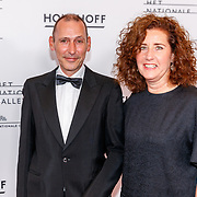 NLD/Amsterdam/20180908 - inloop Gala Het Nationale Ballet 2018, politica Ingrid van engelshoven en partner