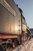 Steam Locomotive Number:??-3246 - Originally used on the BAM (Baikal-Amur Mainline) Railway Line Now on display at Station Tynda, Amur region. Siberia, Russia