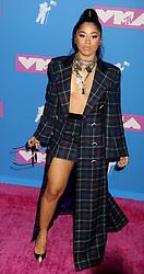August 20, 2018 - New York City, New York, U.S. - HENNESSY CAROLINA attends the arrivals for the 2018 MTV 'VMAS' held at Radio City Music Hall. (Credit Image: © Nancy Kaszerman via ZUMA Wire)