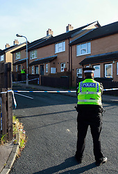 © Paul Thompson Licensed to London News Pictures. 15/06/2015. Bradford, West Yorkshire. Holker Street in Bradford, where Nadia Khan a mother of two was found stabbed to death. Mrs Khan was six months pregnant. Photo credit : Paul Thompson/LNP