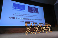UCLA TFT Sloan Film Grant Colloquium held at James Bridges Theater/UCLA on November 03, 2019 in Los Angeles, California, United States (Photo by © Jc Olivera/VipEventPhotography.com)