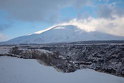 Gorge And Mountain From Sagmosavank Monastery