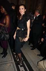 LARA BOHINC at the British Fashion Awards 2006 sponsored by Swarovski held at the V&A Museum, Cromwell Road, London SW7 on 2nd November 2006.<br /><br />NON EXCLUSIVE - WORLD RIGHTS