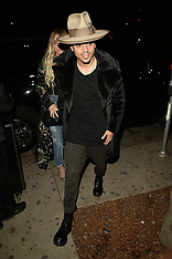 Hollywood - Ashlee Simpson and Evan Ross Grammy After Party 12th Feb 2017