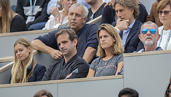 Amelie Mauresmo in the stands on day five of The Roland Garros 2019 French Open tennis tournament in Paris, France on May 30, 2019. Photo by ABACAPRESS.COM