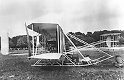 Wright Brothers' Military Flyer of 1909. Photograph.