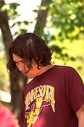 Man age 21 with an alternative look.  St Paul  Minnesota USA